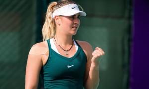 Костюк потужно стартувала на турнірі в ОАЕ