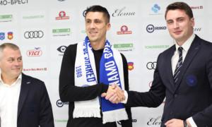 Хачеріді став гравцем Динамо Брест