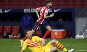Атлетіко - Барселона 1:0. Огляд матчу