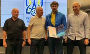 Шовковський отримав PRO-диплом УЄФА