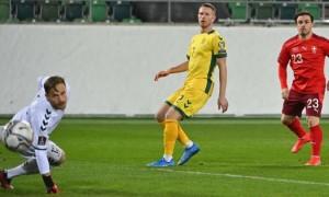 Збірна Швейцарії здолала Литву у кваліфікації ЧС-2022