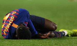 Барселона отримає від УЄФА компенсацію за травму Дембеле