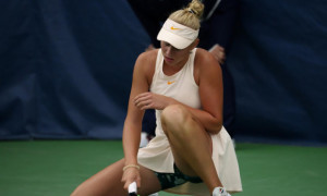 Лопатецька знялася з турніру через травму