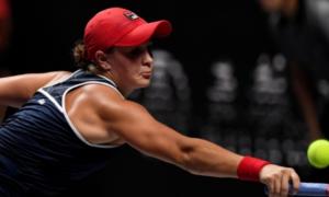 Барті розгромила Бенчич на Підсумковому турнірі WTA