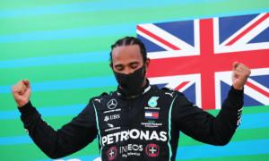 Гамільтон встановив рекорд Формули-1, випередивши Шумахера за кількістю подіумів