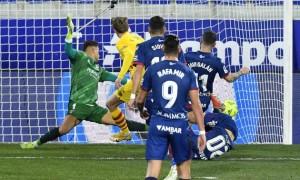 Барселона з труднощами перемогла Уеску у 17 турі Ла-Ліги