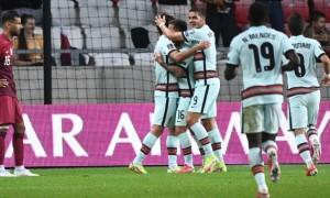 Збірна Португалії у більшості переграла Катар у контрольному матчі
