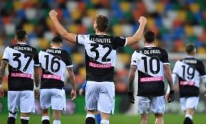 Удінезе упевнено перемогло Беневенто у 33 турі Серії А