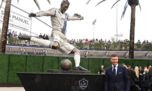 Бекхему встановили пам'ятник у Лос-Анджелесі