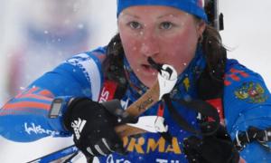Колишня російська біатлоністка вказала на безправність спортсменів у Росії