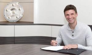 Баварія продовжила контракт з Мюллєром