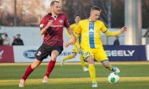 БАТЕ зазнав сенсаційної поразки  у 20 турі чемпіонату Білорусі