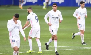 Дубль Варана приніс Реалу вольову перемогу над Уескою в 22 турі Ла-Ліги
