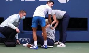 Джокович дискваліфікований з US Open