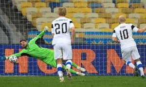 Збірна України втратила важливі очки у матчі з Фінляндією