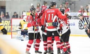 Донбас здобув упевнену перемогу в першому матчі півфінальної серії