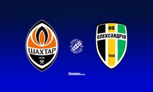 Шахтар - Олександрія: Стартові склади команд