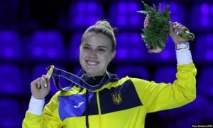 Відео дня. Харлан вирвала перемогу в росіянки у фіналі чемпіонату світу