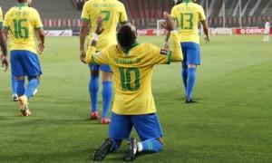 Неймар випередив Роналдо у списку найкращих бомбардирів збірної Бразилії