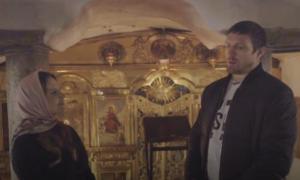 Усик знявся у фільмі дружини Медведчука