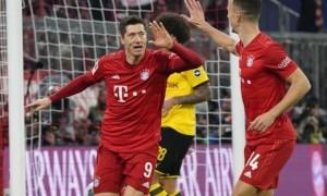 Баварія - Боруссія 4:0. Огляд матчу