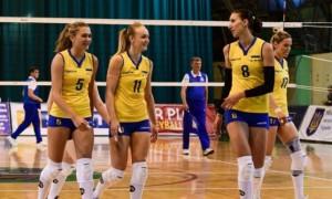 Жіноча збірна України з волейболу виграла в першому матчі Золотої Євроліги