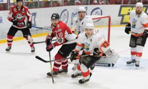 Дніпро і Білий Барс впевнено переграли майбутніх суперників по плей-оф. Огляд 40-го туру УХЛ. ВІДЕО