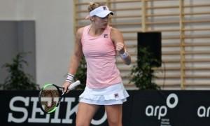 Козлова знищила Ларссон у першому колі турніру в Угорщині