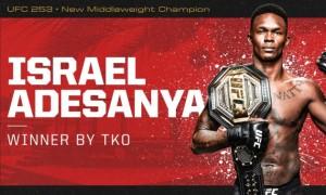 Адесанья нокаутував Косту та захистив титул чемпіона UFC