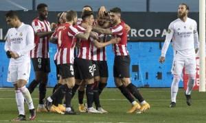 Атлетік сенсаційно переміг Реал у півфіналі Суперкубку Іспанії