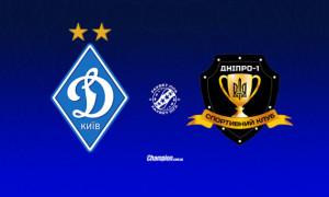 Динамо - Дніпро-1: онлайн-трансляція матчу 21 туру УПЛ. LIVE