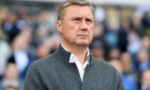 Хацкевич звільнений з посади головного тренера Динамо