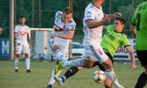 Петряк дебютував за Фехервар в офіційному матчі