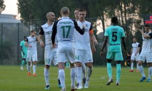 Олександрія завершила збори перемогою над латвійським клубом