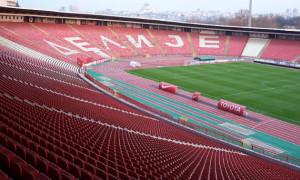 Матч Сербія – Україна відбудеться на стадіоні клубу Црвена Звезда