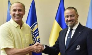 УАФ анонсувала представлення нового тренерського штабу збірної України