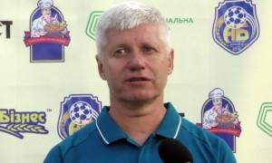 Чижевський – найкращий тренер 12 туру Першої ліги