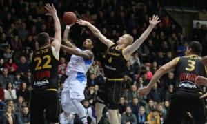 Київ-Баскет відіграв 16 очок у грі із Миколаєвом у Кубку України