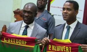 Зеєдорфа та Клюйверта звільнили зі збірної Камеруну