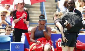 Вільямс травмувалася у фіналі і Андреєску виграла турнір у Торонто