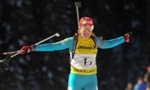 Україна посіла 4 місце в одиночній змішаній естафеті на Кубку світу