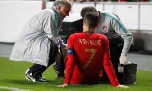 Роналду отримав травму в матчі проти Сербії