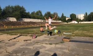 Ляхова показала жахливі умови підготовки спортсменів у Кременчуці