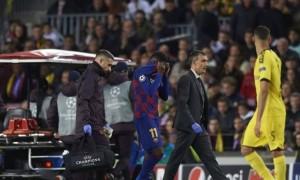 Нападник Барселони травмувався у матчі із Боруссією