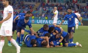 Італія з дублем Локателлі перемогла Швейцарію на Євро-2020