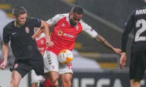 Зоря на виїзді програла Бразі у 6 турі Ліги Європи