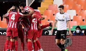 Валенсія програла Атлетіко у 11 турі Ла-Ліги