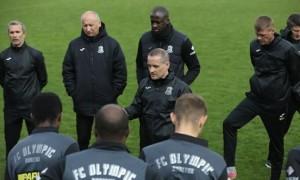 Гравцям Олімпіка представлено нового головного тренера