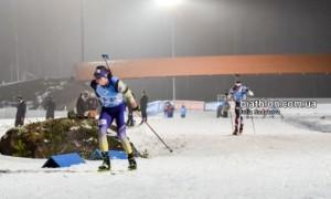 Збірна України фінішувала дев'ятою в естафеті на Кубку світу