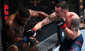 Ковінгтон достроково переміг Вудлі на UFC on ESPN + 36